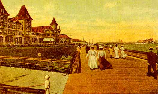 The Brighton Beach Hotel Built In 1878 Had Accommodations For Nearly 5000 And Could Feed 20 000 People Per Day