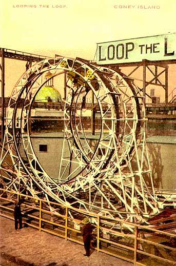 Coney Island Roller Coasters