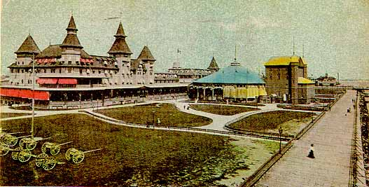 The 700 Foot Long Manhattan Beach Hotel Was Built In 1877 It Featured 258 Lavish Rooms Restaurants Ballroom And S