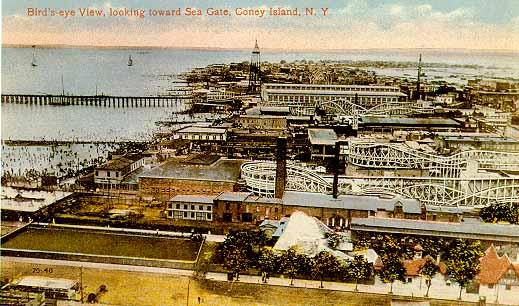 Dreamland Pier Coney Island