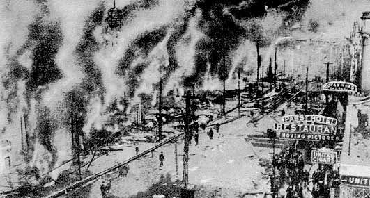 Dreamland Coney Island Fire