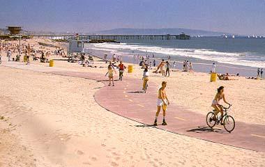 Venice Beach Bikepath Photo By Jeffery Stanton Scenes